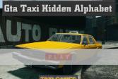Играть Найти буквы на снимке такси из GTA онлайн флеш игра для детей