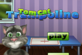 Играть Говорящий Том. Трамплин онлайн флеш игра для детей