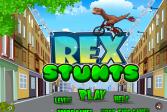 Играть Трюки Рэкса онлайн флеш игра для детей