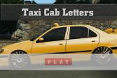 Играть Скрытые буквы на такси онлайн флеш игра для детей