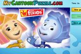 Играть Фиксики: Нолик и Симка - Пазлы онлайн флеш игра для детей