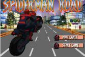 Играть Спайдермен на дороге онлайн флеш игра для детей