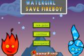 Играть Огонь и Вода: Капелька спасает Искру онлайн флеш игра для детей