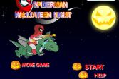 Играть Человек-паук Ночь на Хэллоуин онлайн флеш игра для детей