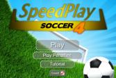 Играть Быстрый футбол 4 онлайн флеш игра для детей