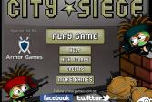 Играть Осада города онлайн флеш игра для детей