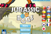Играть Яйца Юрского периода онлайн флеш игра для детей