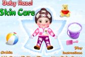 Играть Уход за кожей малышки онлайн флеш игра для детей