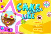 Играть Линия по производству пирожных онлайн флеш игра для детей