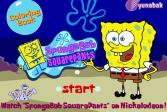 Играть Губка Боб: Книжка-раскраска онлайн флеш игра для детей
