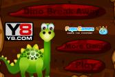 Играть Побег динозаврика из клетки онлайн флеш игра для детей