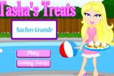 Играть Блюда Таши: Большие начо онлайн флеш игра для детей