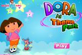 Играть Дора в Луна-парке онлайн флеш игра для детей
