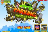 Играть Хулиган на парковке онлайн флеш игра для детей