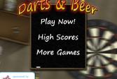 Играть Дартс и пиво онлайн флеш игра для детей