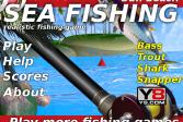 Играть Морская рыбалка на спиннинг онлайн флеш игра для детей