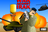 Играть Война против Ирака онлайн флеш игра для детей
