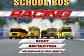 Играть Гонка на школьном автобусе онлайн флеш игра для детей