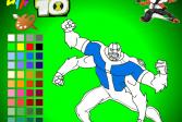 Играть Бен 10: Инопланетяне - Раскраса онлайн флеш игра для детей