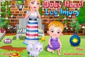 Играть Детская травма ноги Хейзел онлайн флеш игра для детей