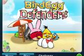 Играть Яйца злых птиц Оборона 2 онлайн флеш игра для детей