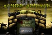 Играть Оборона против зомби - антизомби онлайн флеш игра для детей