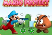Играть Марио защитник онлайн флеш игра для детей