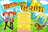 Играть Мой новый город онлайн флеш игра для детей
