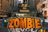 Играть Зомби восстания онлайн флеш игра для детей