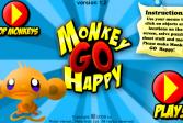 Играть Веселая обезьянка онлайн флеш игра для детей