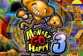 Играть Счастливая обезьянка 3 онлайн флеш игра для детей