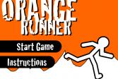 Играть Оранжевый бегун онлайн флеш игра для детей