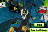 Играть Бен-10: охота за роботом онлайн флеш игра для детей