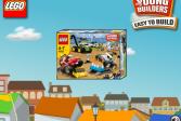 Играть Лего монстр грузовик онлайн флеш игра для детей