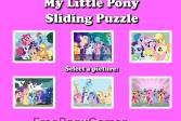Играть Мой маленький пони - скользящая головоломка онлайн флеш игра для детей