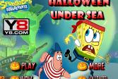 Играть Хэллоуин на дне моря онлайн флеш игра для детей