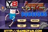 Играть Время приключений: Подземелье онлайн флеш игра для детей