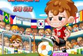 Играть Футбольное пенальти онлайн флеш игра для детей