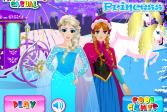 Играть Снежная принцесса онлайн флеш игра для детей