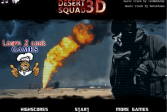 Играть Отряд в пустыне 3D онлайн флеш игра для детей