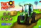 Играть Парковка трактора онлайн флеш игра для детей