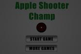 Играть Чемпионат стрельбы по яблокам онлайн флеш игра для детей