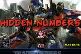Играть Скрытые числа: Трансформеры онлайн флеш игра для детей