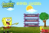 Играть Губка Боб - Супер лучник онлайн флеш игра для детей