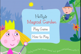 Играть Волшебный сад Холли онлайн флеш игра для детей