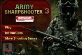 Играть Армейский снайпер 3 онлайн флеш игра для детей