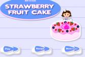 Играть Клубничный фруктовый пирог онлайн флеш игра для детей
