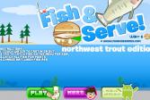 Играть Ловля форели онлайн флеш игра для детей