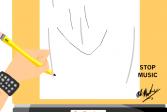 Играть Как нарисовать Стика онлайн флеш игра для детей