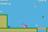 Играть Дружба это Чудо - розовый мир онлайн флеш игра для детей